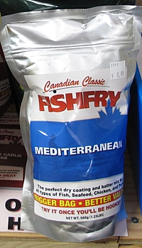 A bigger Canadian Classic Fishfry bag?? It's still 560g!