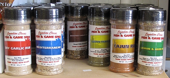 Canadian Classic Fish and Game Spice Family... definitely not the Spice Girls.