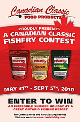 Canadian Classic Fishfry Shore Lunch Contest
